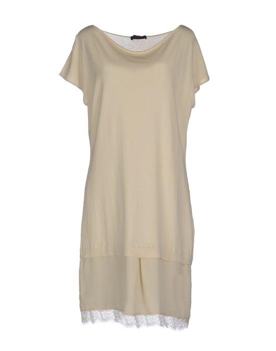 Фото PURO CASHMERE Короткое платье. Купить с доставкой