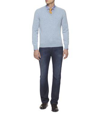 ERMENEGILDO ZEGNA: Cashmere Sweater Grey - 39402792AG