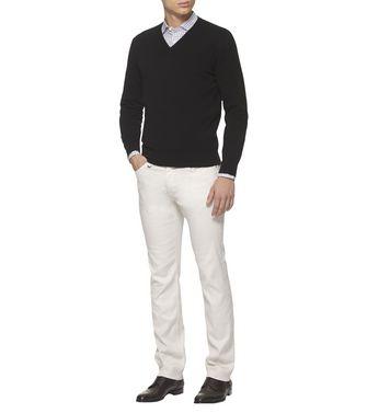 ERMENEGILDO ZEGNA: Cashmere Sweater Grey - 39402817GL