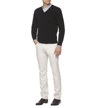 ERMENEGILDO ZEGNA: Cashmere Sweater Blue - 39402817GL