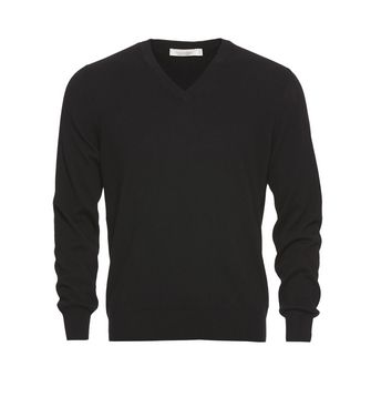 ERMENEGILDO ZEGNA: Cashmere sweater Brown - 39402817GL