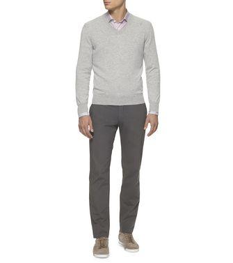 ERMENEGILDO ZEGNA: Cashmere Sweater Deep jade - 39402818JU