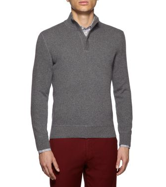 ERMENEGILDO ZEGNA: High Neck Grey - 39403906JT