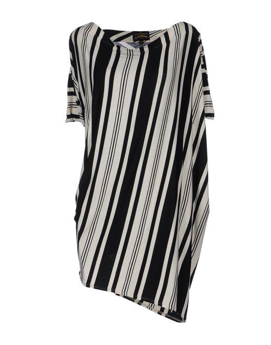 Фото VIVIENNE WESTWOOD ANGLOMANIA Короткое платье. Купить с доставкой