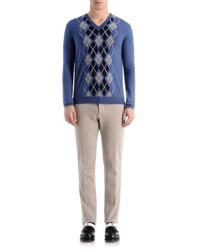 Classic Argyle Front Merino Sweater