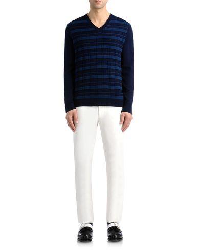 Ottoman Stripe Tartan Effect Sweater