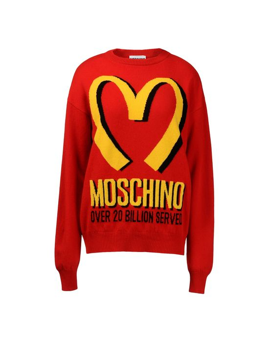 The TrueSelf | moschino shirt mcdonalds
