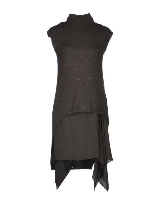 Фото BRUNELLO CUCINELLI Короткое платье. Купить с доставкой