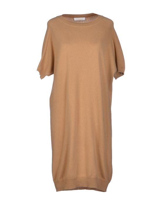 Фото CHLOÉ Короткое платье. Купить с доставкой