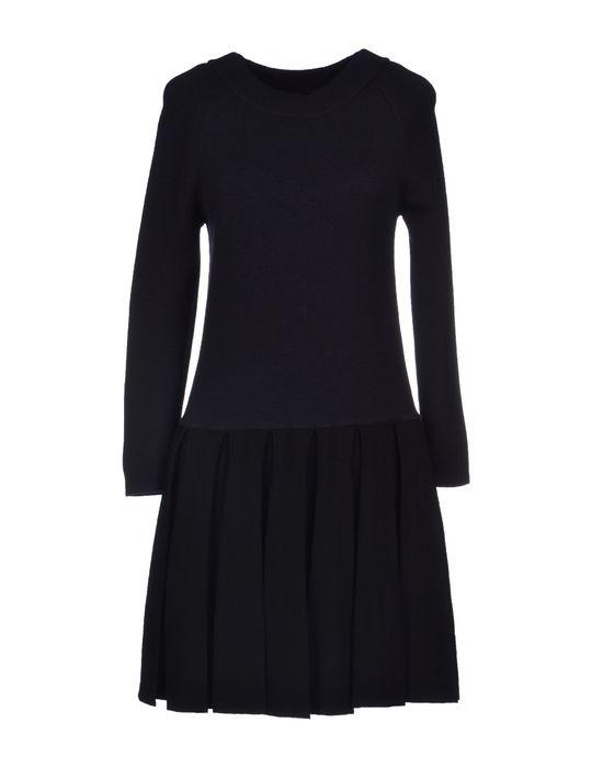 Фото MAURO GRIFONI Короткое платье. Купить с доставкой