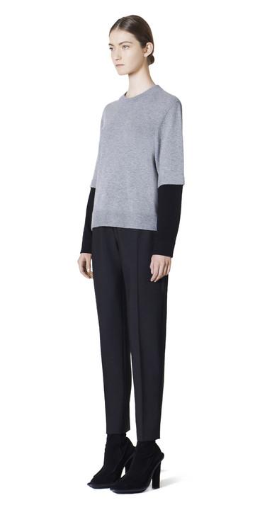 Balenciaga Kaschmir-Pullover mit Rundhalsausschnitt
