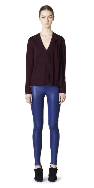 Balenciaga Plissee-Pullover