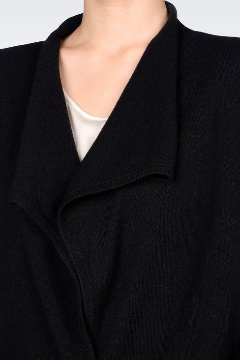 CASHMERE CARDIGAN: Cardigans Women by Armani - 5