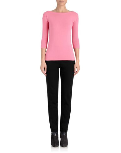 Cashmere Slash Neck Knit
