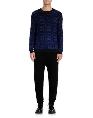 Merino Wool Blend Abstract Tartan Knit