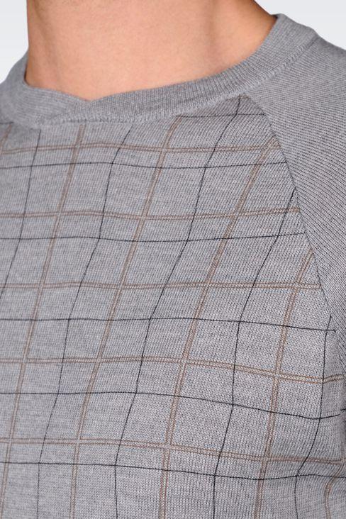 JUMPER IN VIRGIN WOOL: Crewneck sweaters Men by Armani - 5