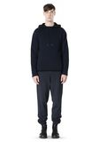 T by ALEXANDER WANG CHENILLE TUCK STITCH PULLOVER HOODIE TOP Adult 8_n_f