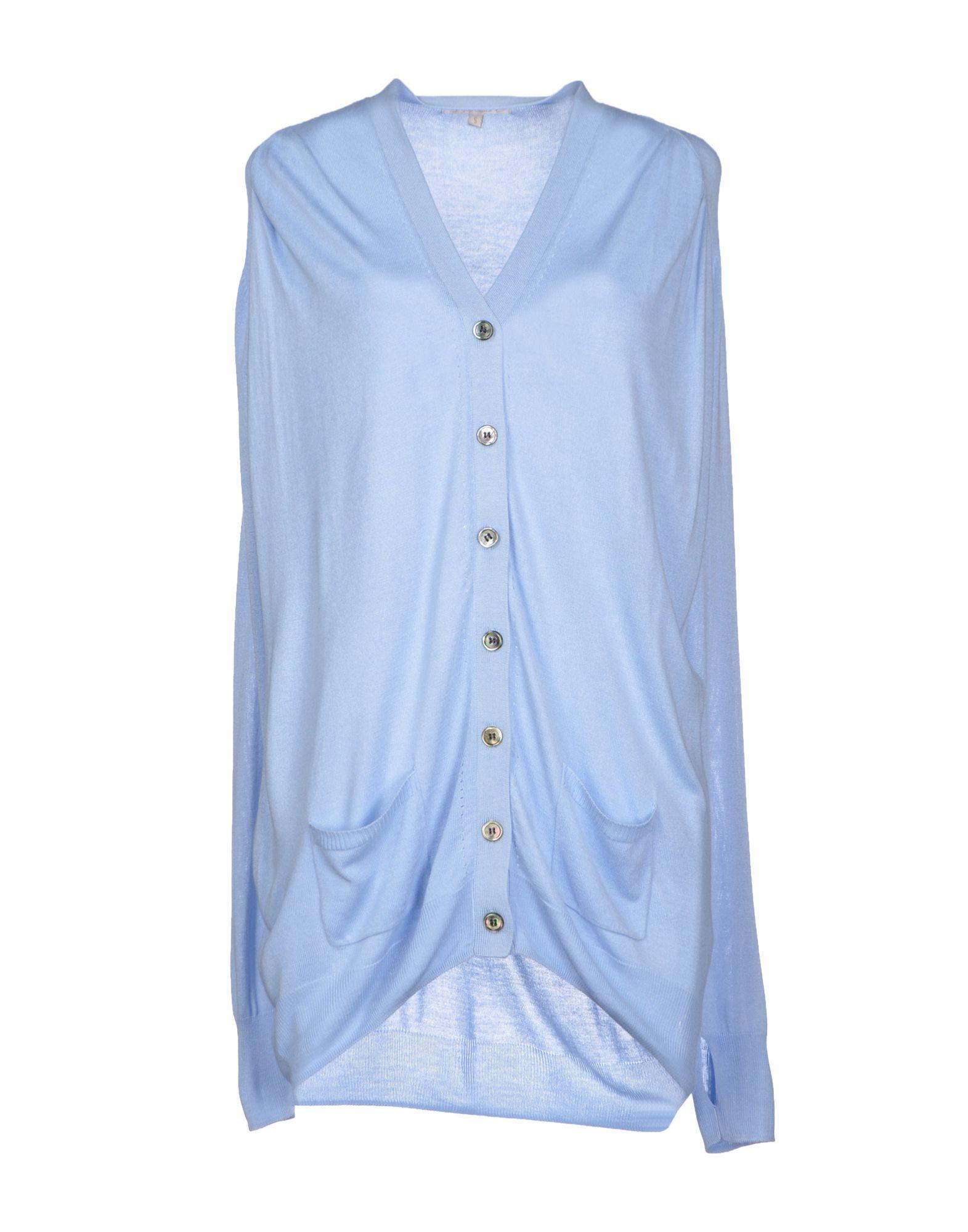GOLD HAWK Damen Strickjacke Farbe Himmelblau Größe 4