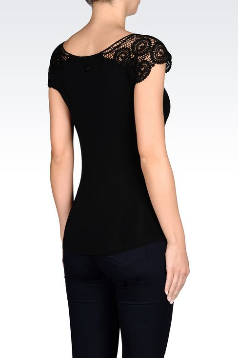 Tops: Short-sleeved tops Women by Armani - 3