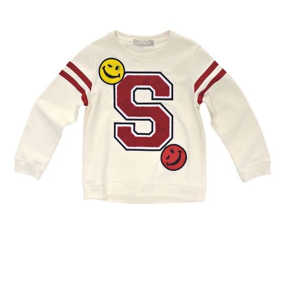 STELLA McCARTNEY KIDS, Jumpers & Cardigans, HATCH SWEATSHIRT