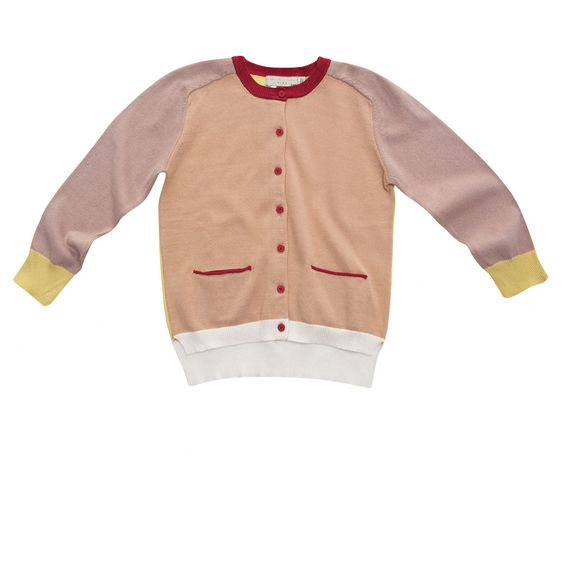 STELLA McCARTNEY KIDS, Jumpers & Cardigans, LAUREN BLOSSOM CARDIGAN