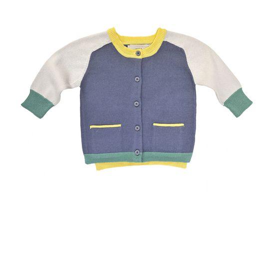 STELLA McCARTNEY KIDS, Jumpers & Cardigans, LAUREN BLUE CARDIGAN