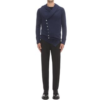 ALEXANDER MCQUEEN, Cardigan, Asymmetric Bend Cardigan