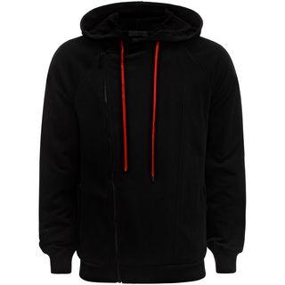 ALEXANDER MCQUEEN, Zip-up, Asymmetric Sweatshirt
