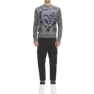 ALEXANDER MCQUEEN, Jumper, Lion's Print Sweater