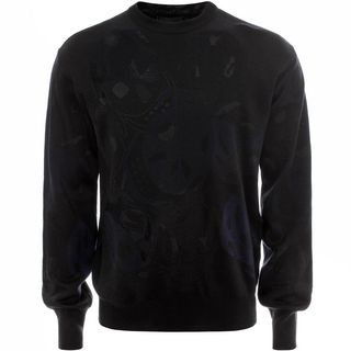 ALEXANDER MCQUEEN, Jumper, All Over Camouflage Skull Sweater