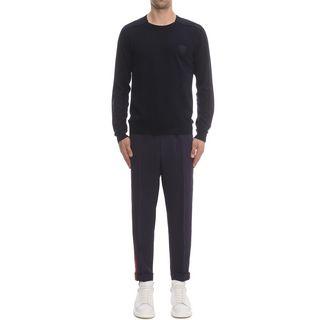 ALEXANDER MCQUEEN, Jumper, Double Layer Knit Sweater