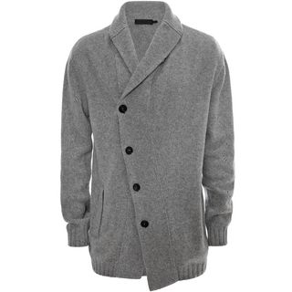 ALEXANDER MCQUEEN, Cardigan, Spine Cable Knitted Cardigan