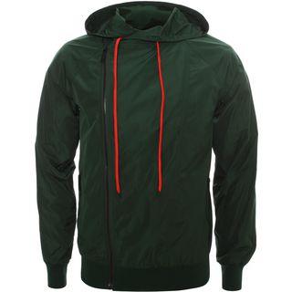 ALEXANDER MCQUEEN, Zip-up, Camouflage Nylon Asymmetric Blouson