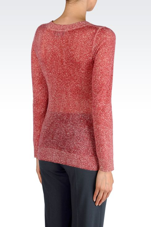 CASHMERE JUMPER: Crewnecks Women by Armani - 3