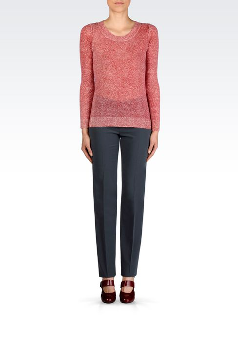 CASHMERE JUMPER: Crewnecks Women by Armani - 2