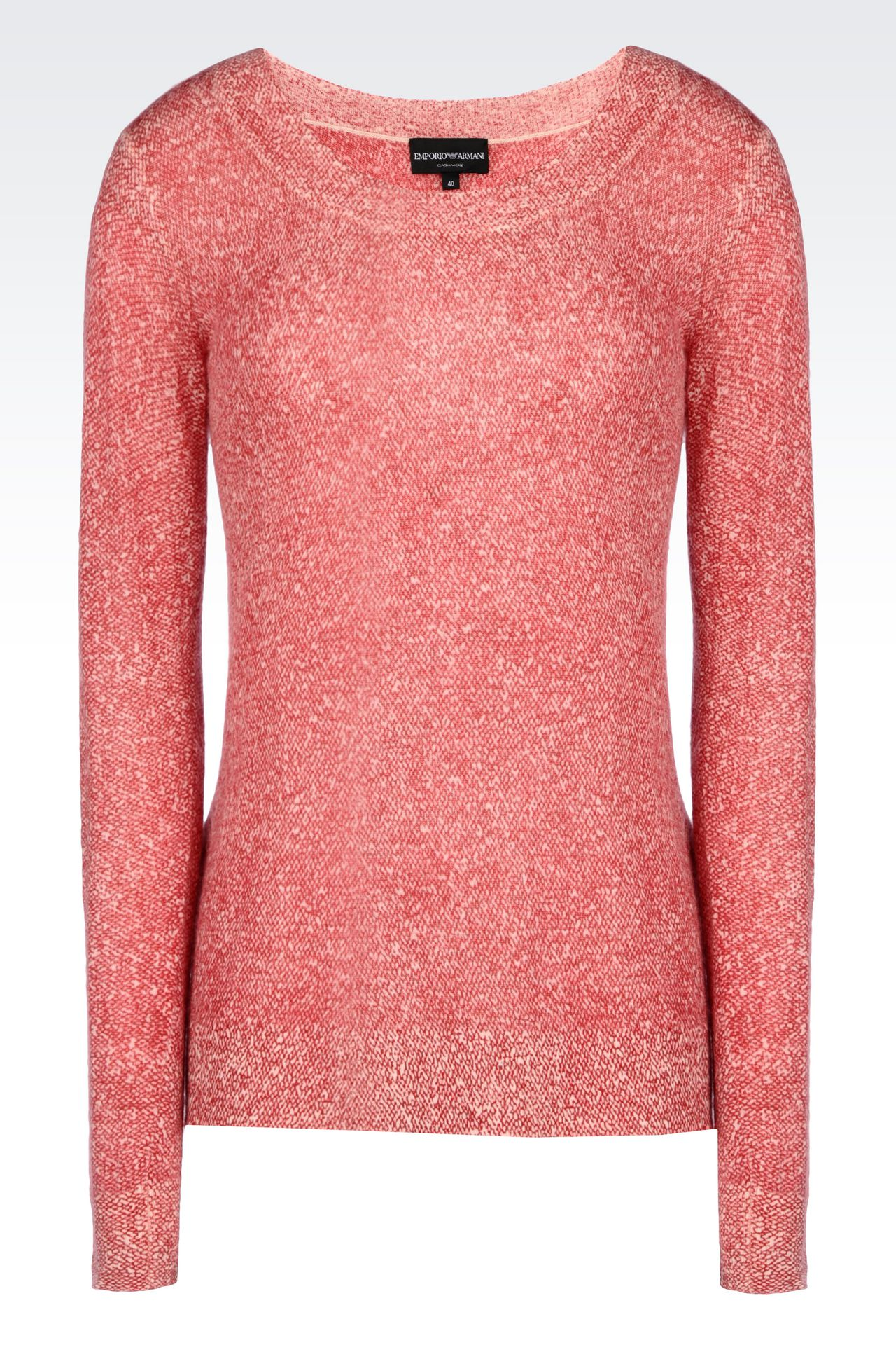 CASHMERE JUMPER: Crewnecks Women by Armani - 0
