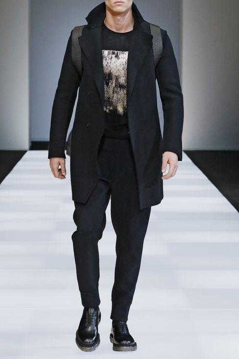 SWEATER IN VIRGIN WOOL: Crewneck sweaters Men by Armani - 2