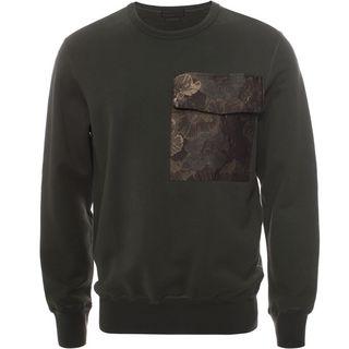 ALEXANDER MCQUEEN, Sweatshirt, Floral Pocket Sweatshirt