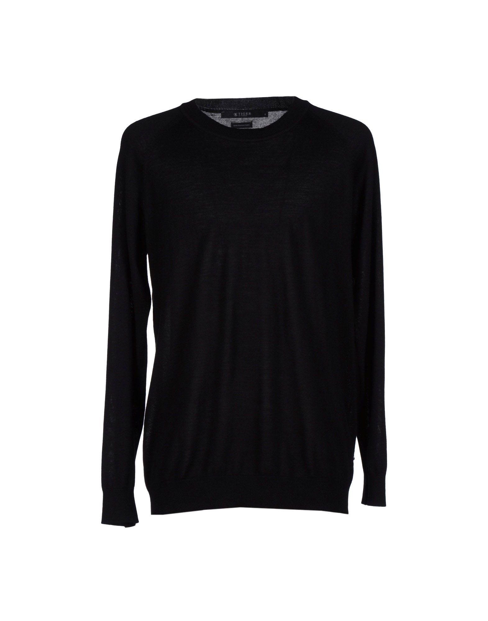 TIGER OF SWEDEN Herren Pullover Farbe Schwarz Größe 7