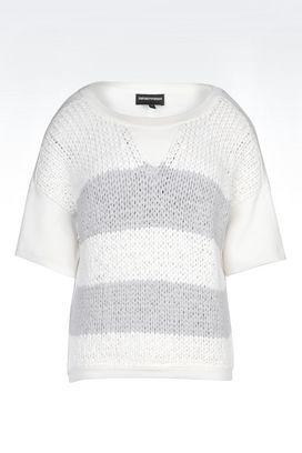 Armani Crewneck sweaters Women sweater in viscose blend