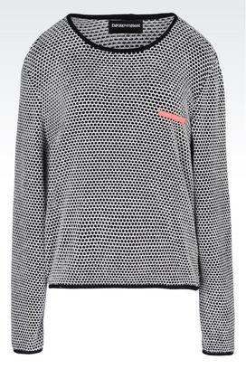 Armani Crewneck sweaters Women sweater in chenille