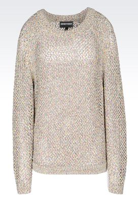 Armani Crewneck sweaters Women multi-coloured sweater