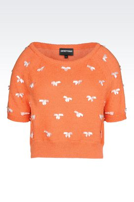 Armani Crewneck sweaters Women knit top