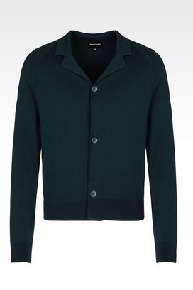 Armani Cardigans Men knit jacket