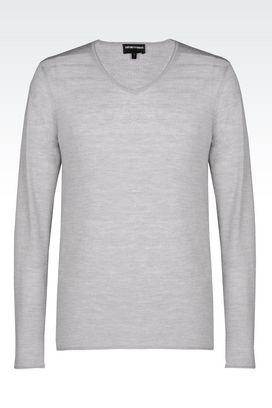 Armani V  neck sweaters Men wool sweater