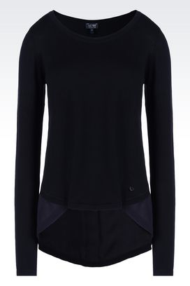 Armani Crewneck sweaters Women cotton sweater