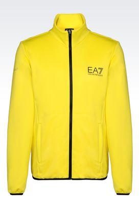 Armani Zip sweatshirts Men vigor7 line full zip sweatshirt