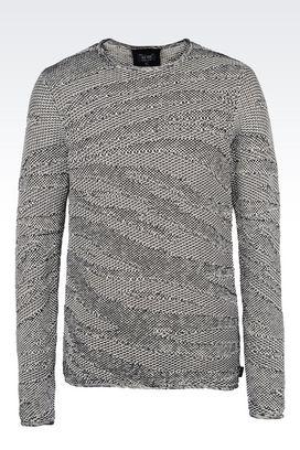 Armani Crewneck sweaters Men cotton jumper
