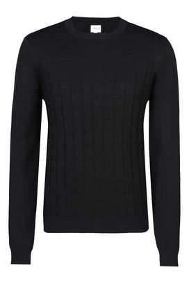 Armani Crewneck sweaters Men sweater in silk and cotton