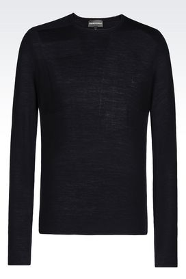 Armani Crewneck sweaters Men wool sweater